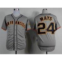 best men shirt brands - Cheap Giants Willie Mays Jersey New Hot Baseball Jerseys Brand Men s Shirts Best Baseball Uniforms Discount Sports Jerseys for Sale