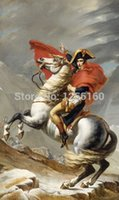 alps paintings - Micro spray to copy the classical painting paintings napoleon crossing the Alps pictures hang a picture