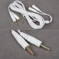 Wholesale Hot sale mm Black White Siberia V2 Neckband Headset Headphone Extension Cable m random colors order lt no tracking