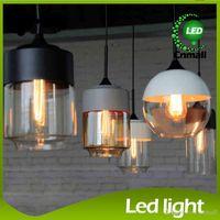 white bedroom furniture - Loft Pendant Lamp Glass Pendant Lighting Dinning Room Living Room Furniture Pendant Light A B C D Pendant Light Hanging Light Droplight