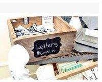 Wholesale 36Pcs Set Chalkboard Blackboard Chalk Board Stickers Craft Kitchen Jar Labels