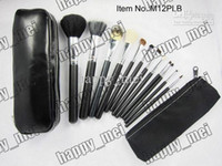 leather pieces - Factory Direct Set New Cosmetics Pieces Brush Sets Leather Pouch With Numbered