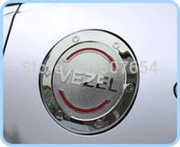 Wholesale High quality Gas tank cover fuel tank cover fuel cap oil tank cover ABS with Chrome for Honda Vezel