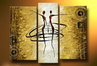 contemporary oil paintings - Professional Hand Painted Contemporary Abstract piece Figure Oil Painting On Canvas for Wall Decoration