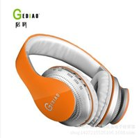 Wholesale GEDIAO classic card style wireless headset bass tide models wearing headset factory direct supply