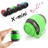 audio thumbs - Thumb Size Mini Speaker Bluetooth Wireless Speakers X Mini We Super Cute Portable Subwoofers mm Jack for MP3 MP4 Player Phone Tablet PC