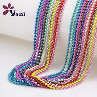 Cheap Colorful Ball Chain Necklace Best Statement Necklace