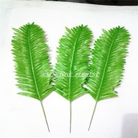 artificial tree - New Year Christmas cm Fabric Wedding Home Decoration DIY Coconut Palm Tree Artificial Plant Tree Leaves FL1315 Green