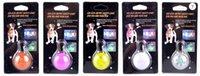 Wholesale Multi Color Dog Tag LED flashing Dog Collar Hangtags LED Pet Collar Necklace Pendants Cat Collars Card
