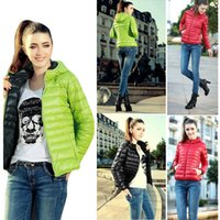 ladies quilted winter coat - Hot Sale Women s Winter Short Slim Hoodies Down Parkas Ladies Quilted Candy Color Zip Thin Coats Outerwear hoody Jackets G0705