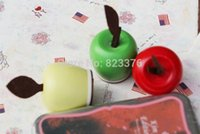 Wholesale DHL pcsNEW Apple design Stamp Multi purpose Decoration funny DIY gift