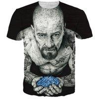 bad tshirts - Harajuku Women Men Vintage Black t shirts tees Breaking Bad Heisenberg d t shirt Funny Tattoo Men tshirts casual tee shirts