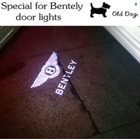 bentley car logo - Car light source LED door welcome lights Ghost Shadow Logo Projector Courtesy light For Bentley flying spur Continenta
