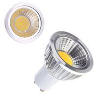 Wholesale 85 V Energy Saving LED Light GU10 COB W Spotlight Bulb Lamp Warm White Led Spot Bulb Lighting High Power For Office