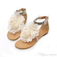 Wholesale HOT Flower Sandals for Women Summer Lady Flower Slippers Flip flops Fashion Women Shoes