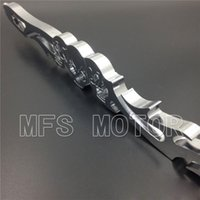 Wholesale Motorcycle For Harley Softail FXDWG Dyna Wide Glide FLHR FLT CHROME Skull Shift Linkage