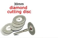 abrasive grinding discs - 30mm mini cutting disc for dremel accessories diamond grinding wheel rotary tool circular saw blade abrasive diamond disc