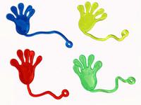al por mayor novedades pegajosas-Blanda de la novedad de la mitad de tamaño de limo YOYO mano pegajosa juguetes para el regalo promocional envío Gratis TY32