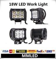 fog - 5pcs w Cree LED Work Light Bar v v IP67 Adjustable Bracket Tractor ATV Offroad Fog Light LED Worklight w External Lights