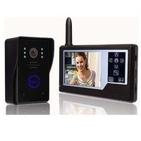 Wholesale NEW G Wireless quot Video Door Phone Intercom Doorbell Ir Camera