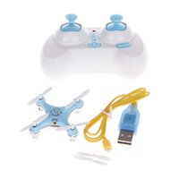 Cheap CX-10 2.4GHz 4-CH Mini RC Remote Control Helicopter - Blue + White