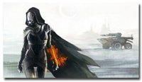 abstract painting videos - Mass Effect Tali Zorah Hot Video Game Art Silk Poster Huge x43 inches