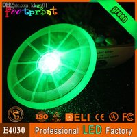 Wholesale Luminous fashion glowing pet flying disc LED flashing dog frisbee cool shining toy