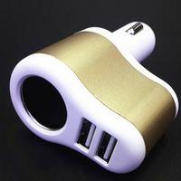 Wholesale 1 In High Quality Car Cigarette Lighter Socket Splitter Charger Power Adapter USB Port Plug V