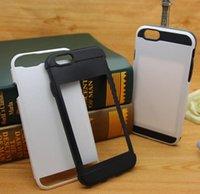 scratch card - Anti scratch Verus DAMDA Hybrid Hard PC TPU DIY Case Cover Skin With Card Holder for Iphone Plus S S