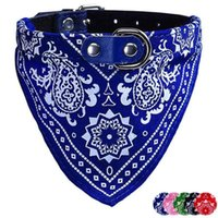 Wholesale 2015 Super Deal PC Adjustable Pet Dog Puppy Cat Neck Scarf Bandana Collar Neckerchief Triangular Bandage Promotion Size S
