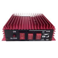 baojie radio - New Car Amplifier BAOJIE BJ Power Amplifier HF Transceiver Ham CB Radio HF Power Amplifier Red Color A7170A