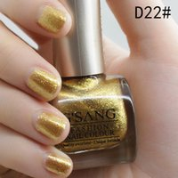 bulk glitter - free ship china gsang brand gold glitter nail polish lacquer bulk amp mixed luxury glaze gold color nail polish