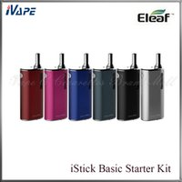 air metals - iSmoka Eleaf iStick Basic Starter Kit Original Eleaf iStick Basic Battery mah With GS Air Atomizer ml VS Nebox SUBVOD