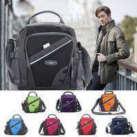 brand tennis bag - 2015 fashion men fitness messenger bag Brand Casual Shoulder nylon tennis satchel gym sports travel handbag ipad holder bolsas