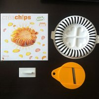 Wholesale 2015 Dinnerware Sets Portable Cooking Cook Healthy Microwave DIY Potato Chips Maker Home