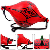 Wholesale New Boxing Training Speed Ball Martial Arts boxing equipment punching ball saco de boxe Red High Quality