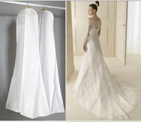big bag clip - Big Suit Long Train Wedding Dress Garment Dustproof Cover Bag Storage Bags Thicken Bag Clips Housekeeping