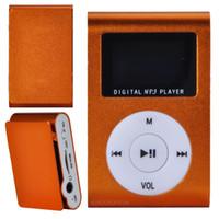 Wholesale 2015 Radio Fm Headphones Music Mini Usb Small Cute Colors Mp3 with Display Screen Need To Plug Tf Memory Player