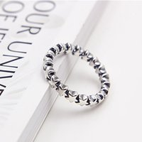 Wholesale Fashion Jewelry Ring Women Ring European Pandora Style Charm Ring High quality Sterling Silver Star Ring