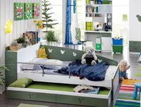 Wholesale A Combination Of the modern Children s Bunk Bed multifunctional storage Trailer Bed Bunk Bed