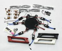 Wholesale F05114 L F550 Drone Heli FlameWheel Kit With KK Flight Controller ESC Motor Carbon Fiber Propellers