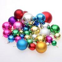 Wholesale 2014 hot sale christmas supplies styrofoam cm christmas ball christmas decoration Christmas gift LJJD456