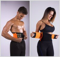 belly support belt - Hot Newest Women Men Waist Trainer Training Xtreme Power Belt Back Support Belly Shaper Adjustable Sports Waist Support Breathable