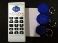 rfid handheld reader - Handheld Khz Khz Khz Khz to MHZ IC ID RFID Duplicator Copier Reader Writer EM4305 MHZ UID Keyfobs