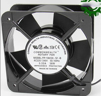 axial ac fan - Square ROTARY FP EX S1 B AC Axial Fan with Ball Bearing AC V Hz A W Wires aluminium alloy Frame