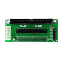 Wholesale SCA Pin To Pin Pin Ultra SCSI II III Adapter Converter D5323A