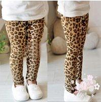 Wholesale Children s fashion autumn new children s clothing girls leopard leggings Korea