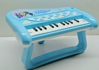 Wholesale 2014 new fashion Frozen Electronic organ Lamplight music electronic organ free shpping Ice and snow country piano