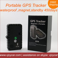 asset tracking - China top quality portable gsm gps tracker with magnet long battery life days waterproof for vehicle human asset tracking A2
