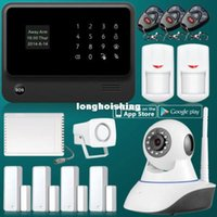 Wholesale 2 G WiFi GPRS SMS Home Alarm Security GSM Alarm System Wireless Relay Output